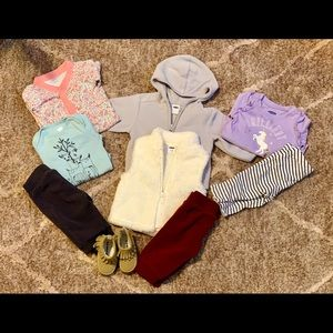 0-3 Month Girls Old Navy lot